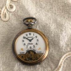 Relojes de bolsillo: RELOJ DE BOLSILLO HEBDOMAS VINTAGE. Lote 178893338