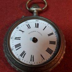 Relojes de bolsillo: ANTIGUO RELOJ DE BOLSILLO ROSKOFF PATENT, 1910 - PARA RESTAURAR. Lote 179044315