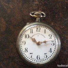 Relojes de bolsillo: RELOJ ANTIGUO PREDILECTO PATENT 19 FUNCIONA. Lote 179076912