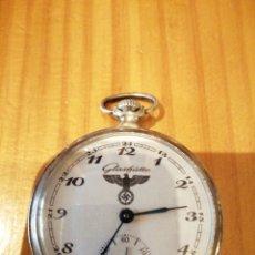 Relojes de bolsillo: RELOJ CON INSIGNIAS NAZIS . Lote 179076917