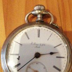 Relojes de bolsillo: RELOJ FUNCIONANDO. Lote 179076985