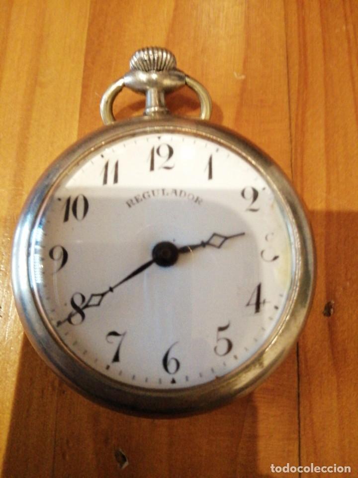 RELOJ ANTIGUO FUNCIONANDO (Relojes - Bolsillo Carga Manual)