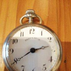 Relojes de bolsillo: RELOJ ANTIGUO FUNCIONANDO . Lote 179077200