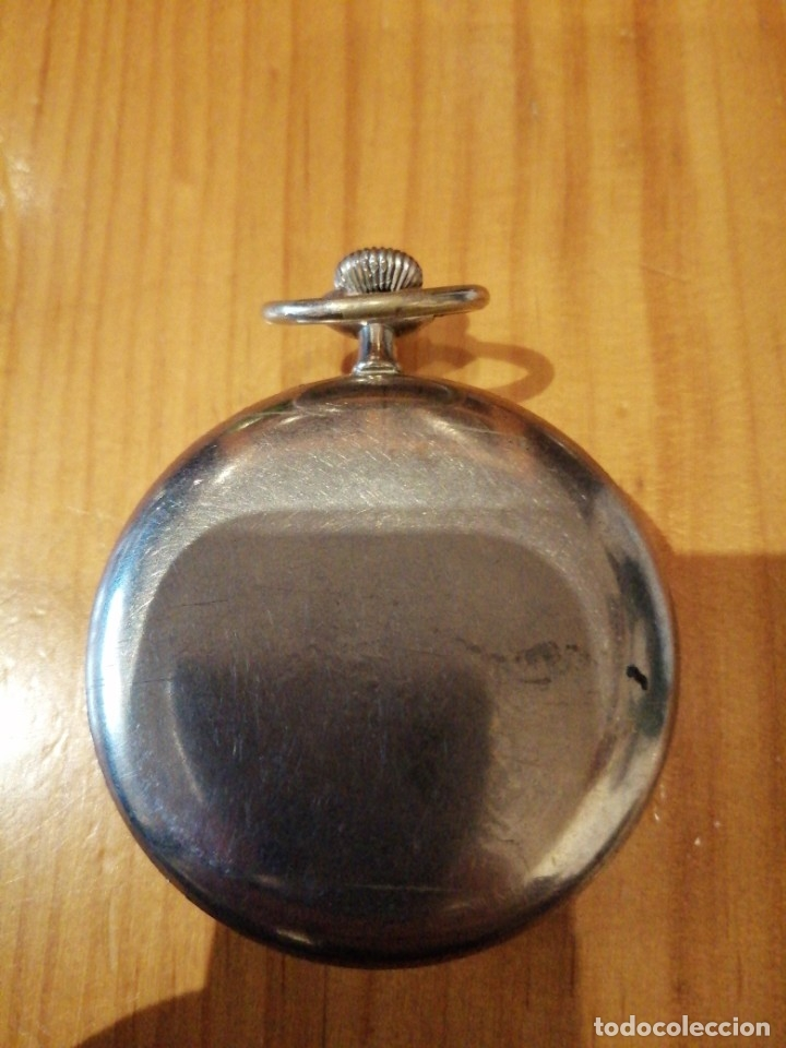 Relojes de bolsillo: Reloj antiguo funcionando - Foto 2 - 179077200