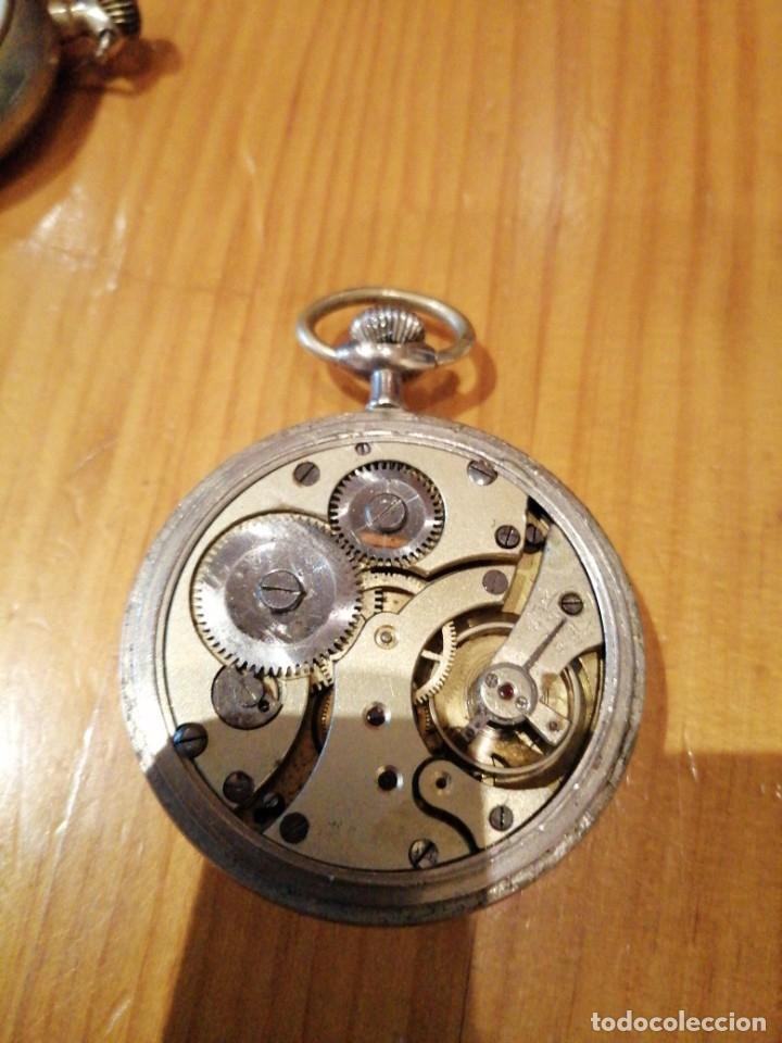 Relojes de bolsillo: Reloj antiguo funcionando - Foto 3 - 179077200