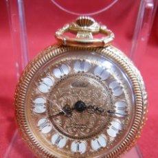Relojes de bolsillo: RELOJ DE BOLSILLO MARCA - CRISTAL - DIAMETRO 35 MM - SWISS -. Lote 179176593