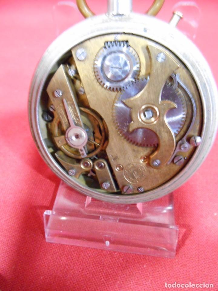 Relojes de bolsillo: RELOJ DE BOLSILLO TIPO ROSKOPF MARCA - CRONOMETRO NACIONAL - DIAMETRO 57 MM - - Foto 5 - 179177411