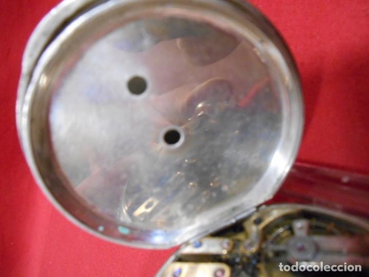 Relojes de bolsillo: RELOJ DE BOLSILLO DE PLATA MARCA - PAUL BOCH GENEVE - DIAMETRO 55 MM - - Foto 9 - 179180055