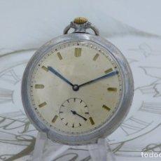 Relojes de bolsillo: RELOJ DE BOLSILLO-15 RUBÍES-CIRCA 1920-1930-FUNCIONANDO. Lote 179190662