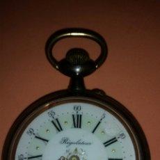 Relojes de bolsillo: RELOJ DE BOLSILLO REGULATEUR COMO LAS FOTOS. Lote 179207975