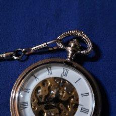 Relojes de bolsillo: BONITO RELOJ DE BOLSILLO MECÁNICO. Lote 179319395
