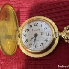Relojes de bolsillo: RELOJ BOLSILLO THERMIDOR A CUERDA. Lote 194571340