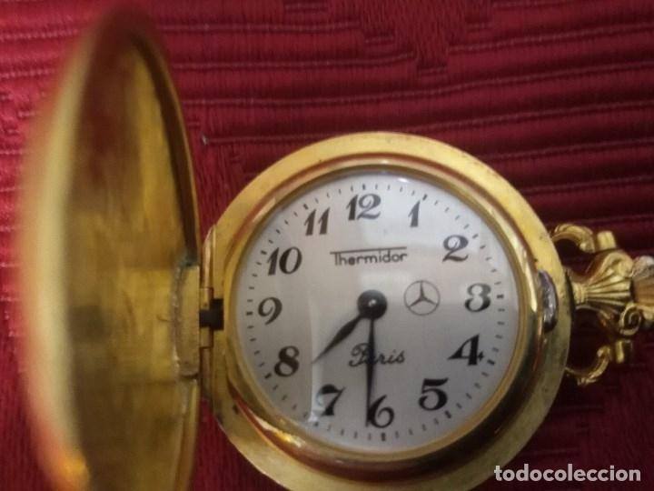 Relojes de bolsillo: RELOJ BOLSILLO THERMIDOR A CUERDA - Foto 3 - 179345813