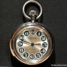 Relojes de bolsillo: PEQUEÑO RELOJ DE BOLSILLO MARCA VALERUS CARGA MANUAL . Lote 180087146
