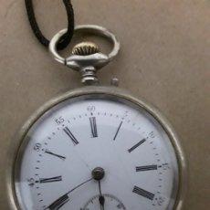 Relojes de bolsillo: RELOJ DE BOLSILLO ANTIGUO,MARCA FLORA. Lote 180131113