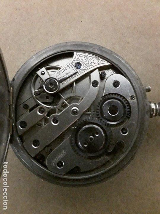 Relojes de bolsillo: Reloj de bolsillo antiguo,marca flora - Foto 4 - 180131113