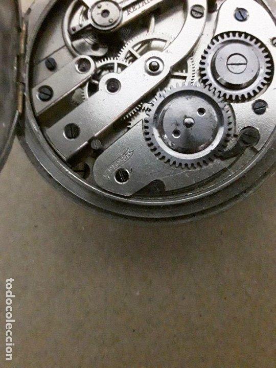 Relojes de bolsillo: Reloj de bolsillo antiguo,marca flora - Foto 6 - 180131113