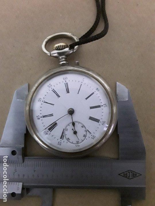 Relojes de bolsillo: Reloj de bolsillo antiguo,marca flora - Foto 8 - 180131113