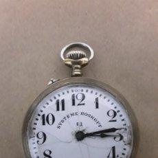Relojes de bolsillo: RELOJ DE BOLSILLO,SYSTEME ROSKOPF PATENT 1.ª. Lote 180132727
