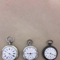 Relojes de bolsillo: LOTE DE RELOJES DE BOLSILLO ANTIGUOS. Lote 180134191