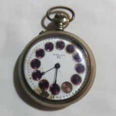 Relojes de bolsillo: ANTIGUO RELOJ DE BOLSILLO POR FAVOR LEER DESCRIPCIÓN. Lote 180201536