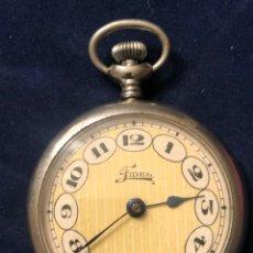 Relojes de bolsillo: RELOJ DE BOLSILLO EN MARCHA Y FUNCIONANDO MARCA FIDES. Lote 180211730