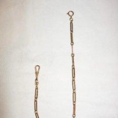 Relojes de bolsillo: CADENA DE RELOJ. Lote 180485662