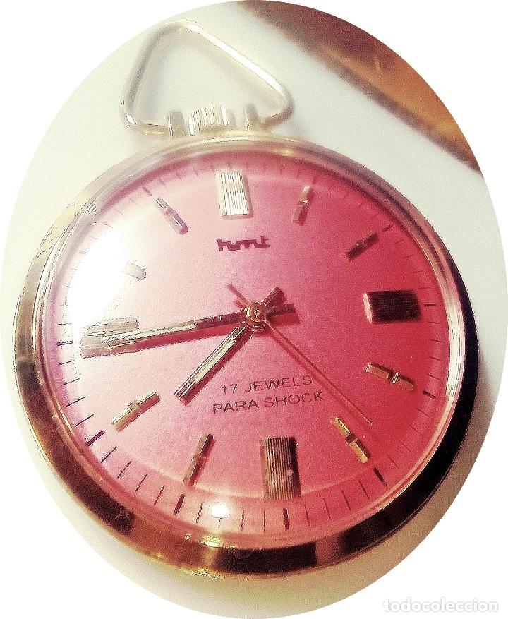 RELOJ BOLSILLO MECANICO. (Relojes - Bolsillo Carga Manual)