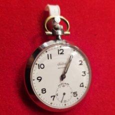 Relojes de bolsillo: RELOJ DE BOLSILLO FUNCIONANDO. Lote 180851238