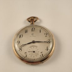 Relojes de bolsillo: ANTIGUO RELOJ DE BOLSILLO CYMA.FUNCIONA.. Lote 179217480