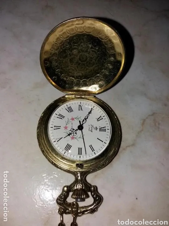 Relojes de bolsillo: Reloj de Bolsillo, a cuerda - Foto 6 - 180944683