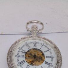 Relojes de bolsillo: RELOJ DE BOLSILLO CARGA MANUAL. Lote 180966978
