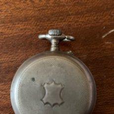 Relojes de bolsillo: ANTIGUO RELOJ DE BOLSILLO 3 TAPAS DE PLATA. RELOJ DE SEÑORA. Lote 181028721