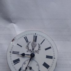 Relojes de bolsillo: MAQUINARIA RELOJ DE BOLSILLO. Lote 181108446