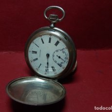 Relojes de bolsillo: RELOJ LONGINES. PLATA. PRINCIPIOS SIGLO XX.. Lote 181160630