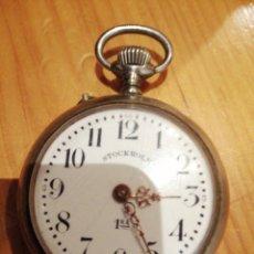 Relojes de bolsillo: RELOJ A CUERDA FUNCIONANDO . Lote 181191873