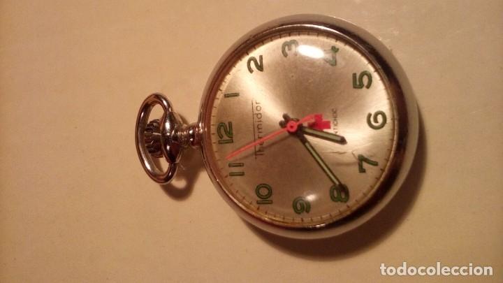 RELOJ DE BOLSILLO THERMIDOR . (Relojes - Bolsillo Carga Manual)