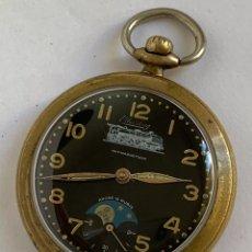 Relojes de bolsillo: RELOJ DE BOLSILLO VINTAGE ANTIMAGNETIQUE ANCRE 15 RUBIS. Lote 181433320