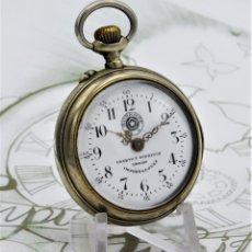 Relojes de bolsillo: CUERVO Y SOBRINOS-ROSKPOF-RELOJ DE BOLSILLO-CIRCA 1910-1920-FUNCIONANDO. Lote 181511800