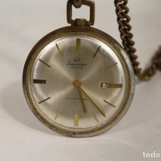 Relojes de bolsillo: RELOJ DE BOLSILLO SUPERSIAR SWISS MADE. Lote 181540661