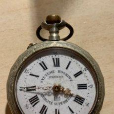Relojes de bolsillo: ANTIGUO RELOJ DE BOLSILLO SYSTEME ROSKOPF. PATENT. Lote 181767173