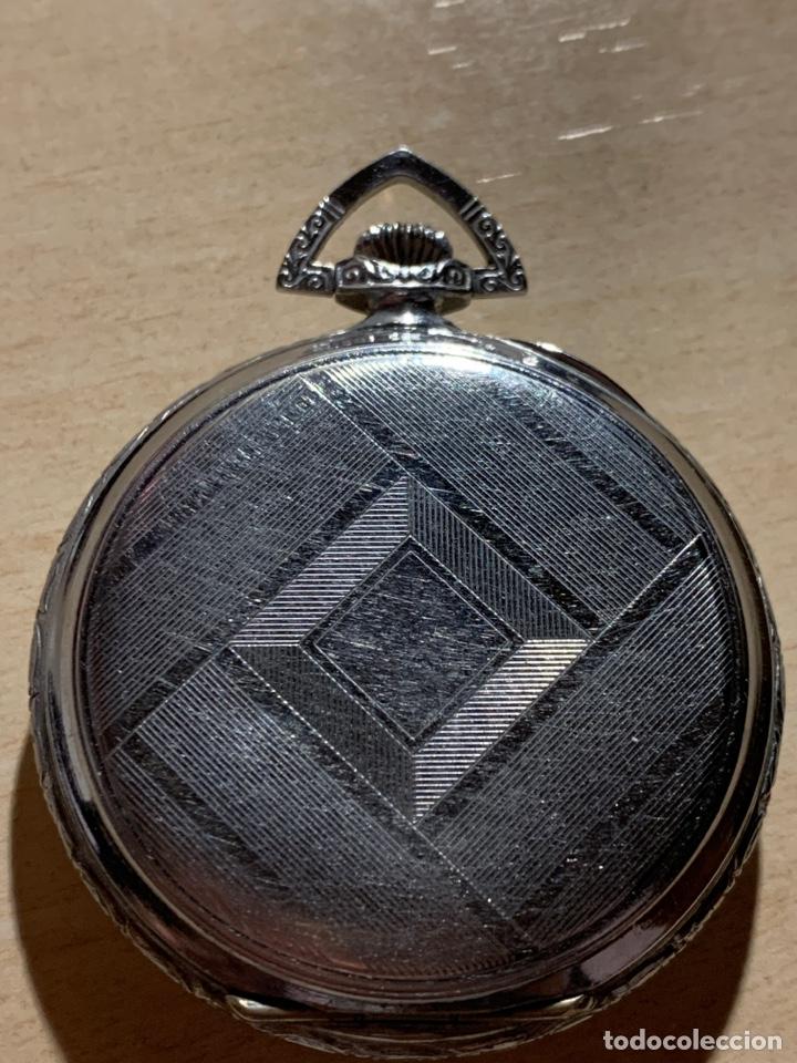 Relojes de bolsillo: Antiguo reloj de bolsillo, art-decó, Sam - Foto 3 - 181769162
