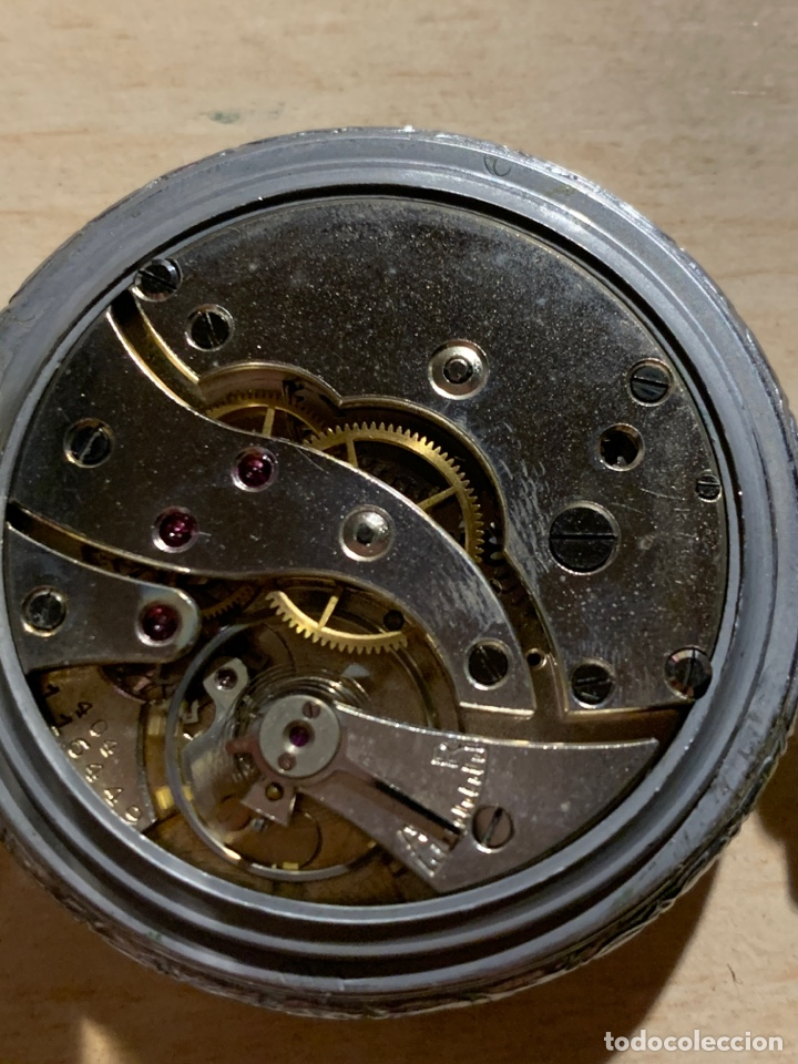 Relojes de bolsillo: Antiguo reloj de bolsillo, art-decó, Sam - Foto 4 - 181769162
