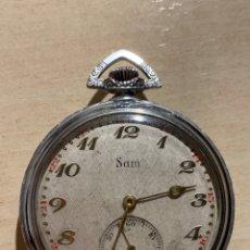 Relojes de bolsillo: ANTIGUO RELOJ DE BOLSILLO, ART-DECÓ, SAM. Lote 181769162