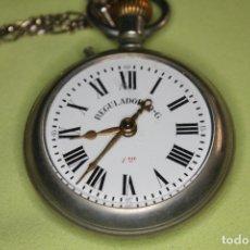Relojes de bolsillo: PRECIOSO RELOJ DE BOLSILLO REGULADOR DG - NUMERACIÓN MUY BAJA-5809 - HOMBRE - 1901 - 1949. Lote 181890180