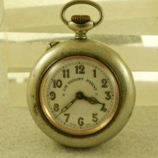 Relojes de bolsillo: RELOJ BOLSILLO GRE ROSKOPF PATENT ANTIGUO MECANICO CON GUARDAPOLVOS. Lote 181991450