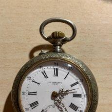 Relojes de bolsillo: ANTIGUO Y PRECIOSO RELOJ DE BOLSILLO FR CRESENS DIEST. Lote 182168678