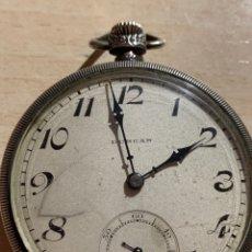 Relojes de bolsillo: ANTIGUO RELOJ DE BOLSILLO DE PLATA ART- DECÓ DUNCAN. Lote 182168792