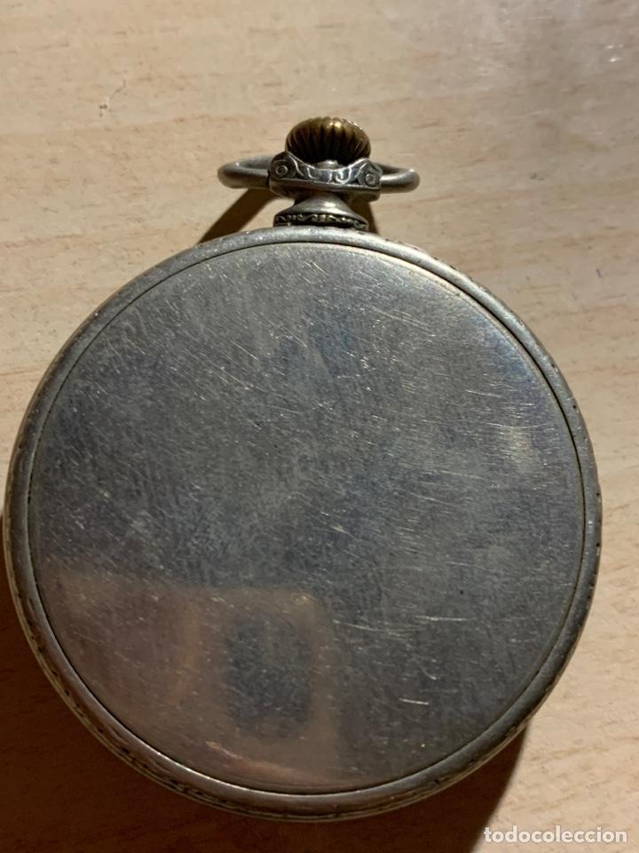 Relojes de bolsillo: Antiguo reloj de bolsillo Art-Decó Kienze - Foto 3 - 182169735