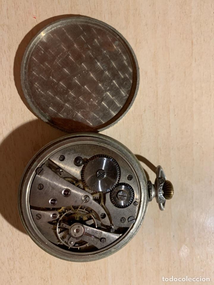 Relojes de bolsillo: Antiguo reloj de bolsillo Art-Decó Kienze - Foto 4 - 182169735
